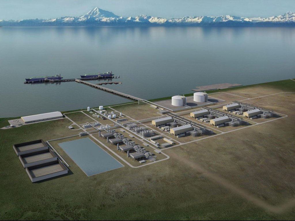Alaska natural gas liquifaction facility